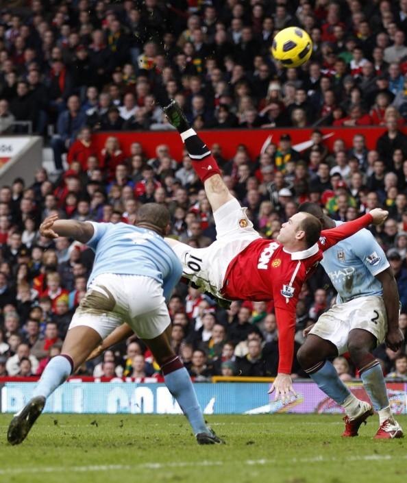 Wayne Rooney1 e1336118795785 Wayne Rooneys Goal Voted Best in Premier Leagues 20 Years