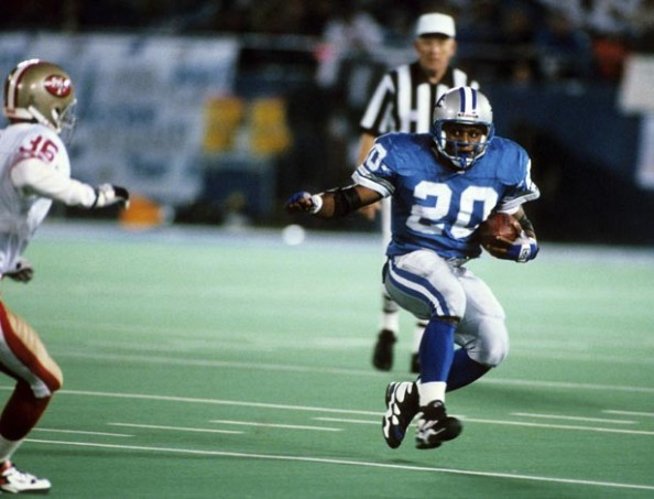 Barry Sanders e1339413403977 The Madden Curse   True or False?