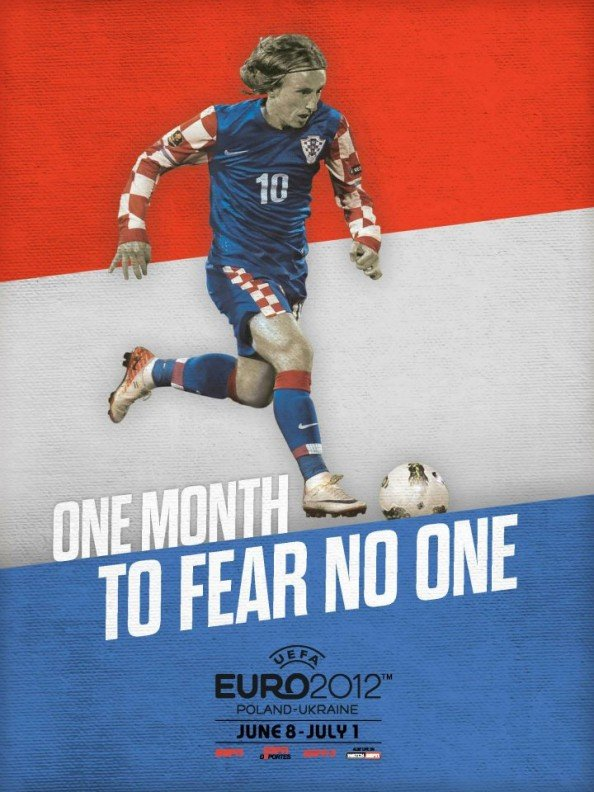 Croatia Euro 2012 Poster e1339056054350 Euro 2012 Posters For All 16 Nations