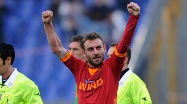 Daniele De Rossi e1340269420530 Daniele De Rossi   The Draw of the Premier League