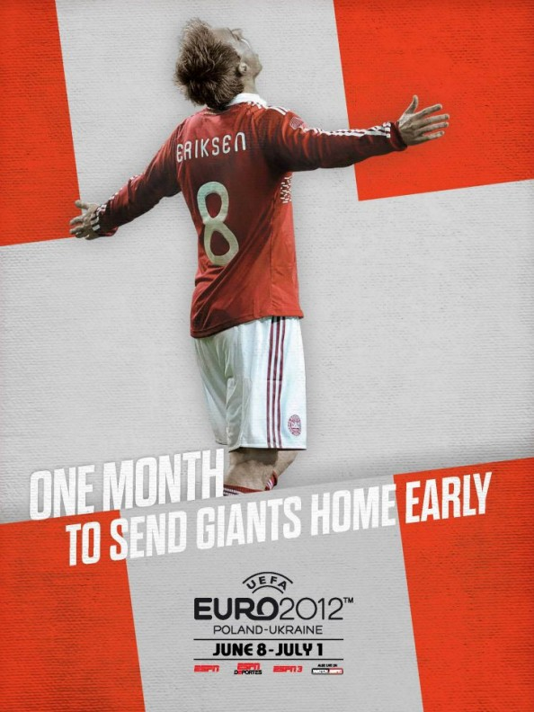 Denmark Euro 2012 Poster e1339055559427 Euro 2012 Posters For All 16 Nations