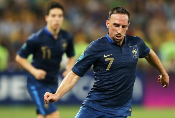 Franck Ribery1 e1340087703909 Euro 2012   Day 12 Predictions (England vs Ukraine, Sweden vs France)