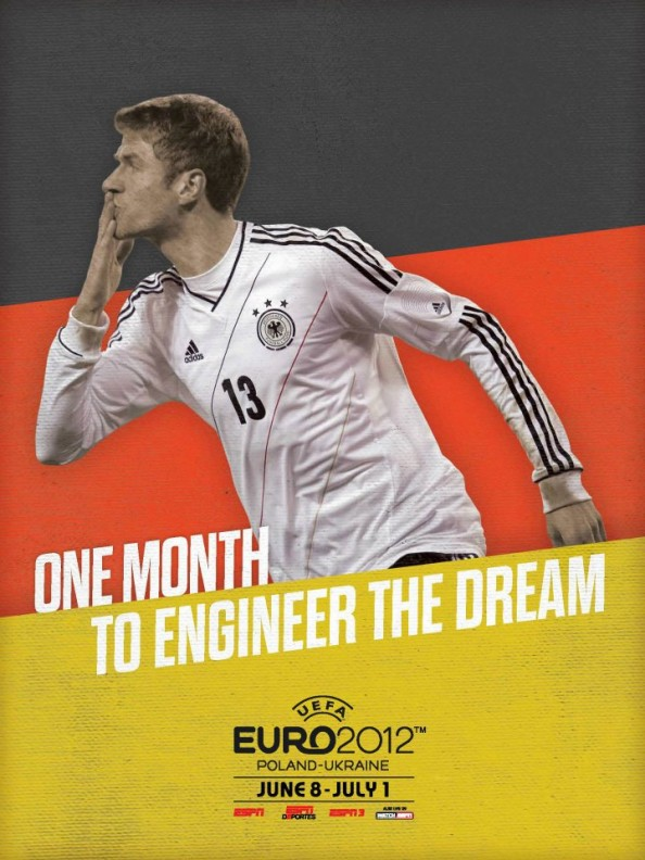 Germany Euro 2012 Poster e1339055629817 Euro 2012 Posters For All 16 Nations