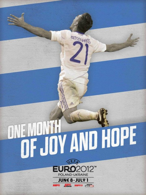 Greece Euro 2012 Poster e1339055246623 Euro 2012 Posters For All 16 Nations