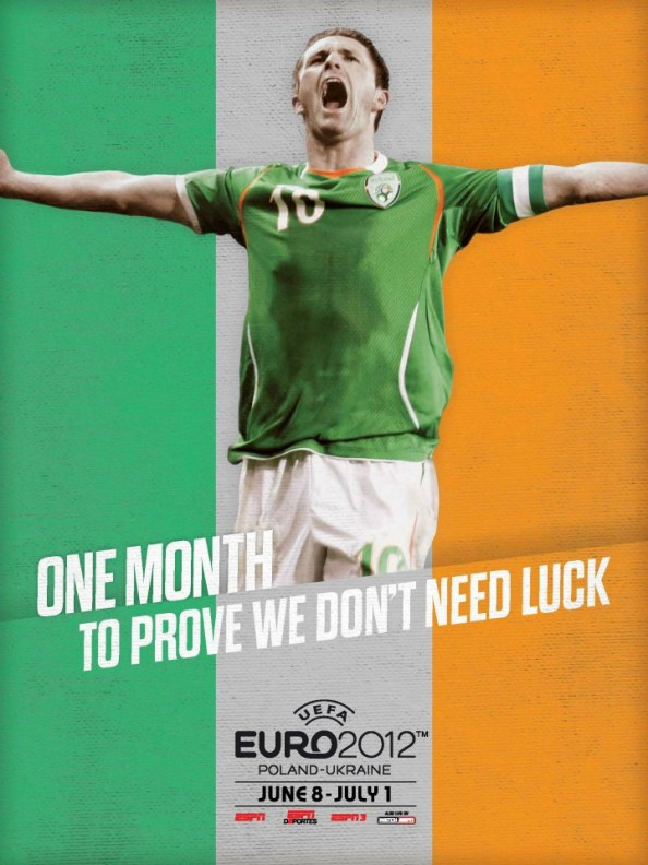 Ireland Euro 2012 Poster e1339055998798 Euro 2012 Posters For All 16 Nations