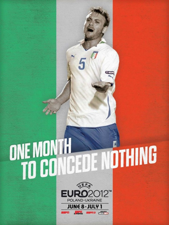 Italy Euro 2012 Poster e1339055863703 Euro 2012 Posters For All 16 Nations
