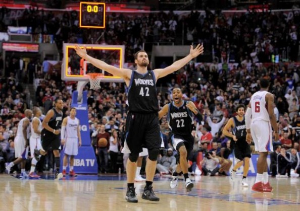 Kevin Love e1340624179105 Records and Milestones in the 2011 2012 NBA Season
