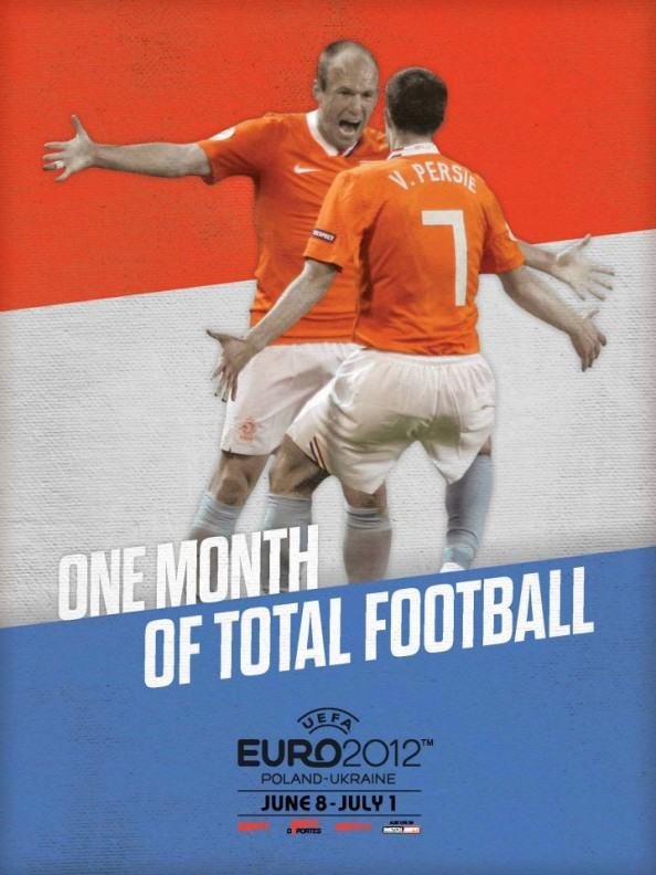 Netherlands Euro 2012 Poster e1339055473722 Euro 2012 Posters For All 16 Nations