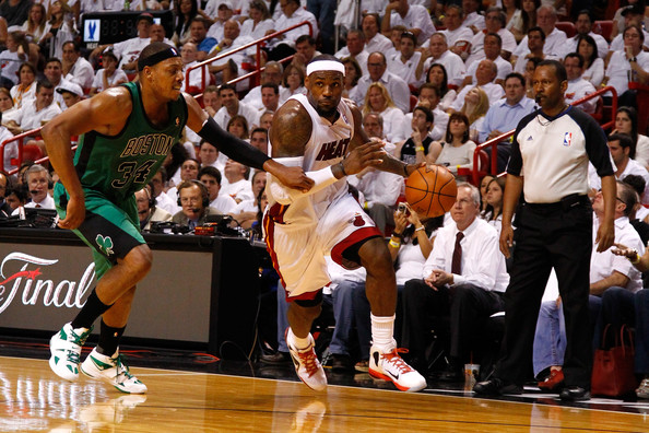 Paul Pierce LeBron James Why Rajon Rondo Wasnt Enough to Lift the Celtics Over the Heat