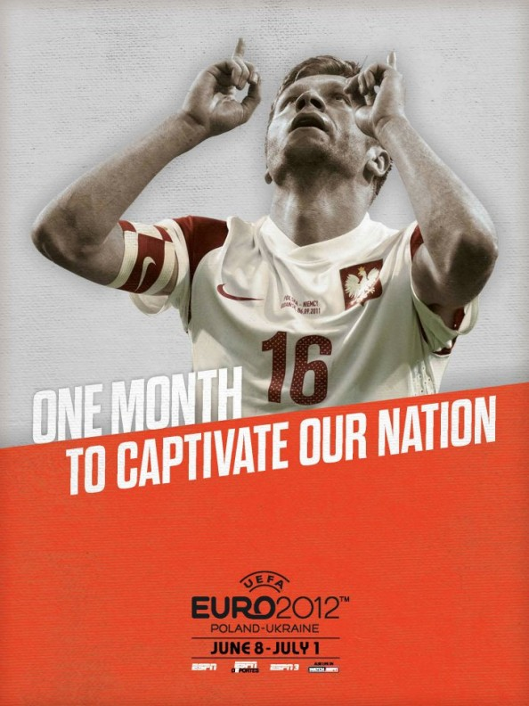 Poland Euro 2012 Poster e1339055129578 Euro 2012 Posters For All 16 Nations