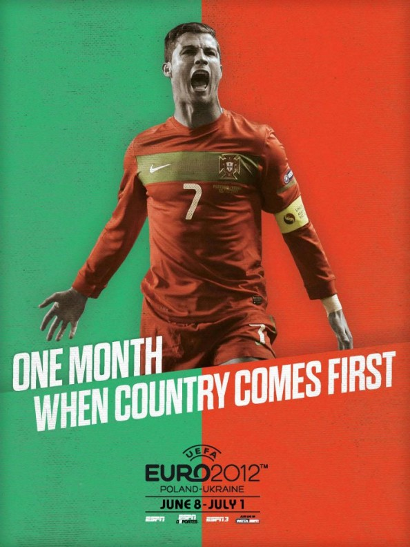 Portugal Euro 2012 Poster e1339055711514 Euro 2012 Posters For All 16 Nations