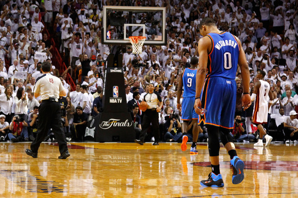 Russell Westbrook2 2012 NBA Finals, Game 4   LeBron James Overcomes, Russell Westbrook Not Enough