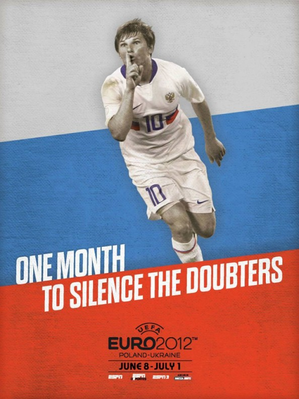 Russia Euro 2012 Poster e1339055309279 Euro 2012 Posters For All 16 Nations