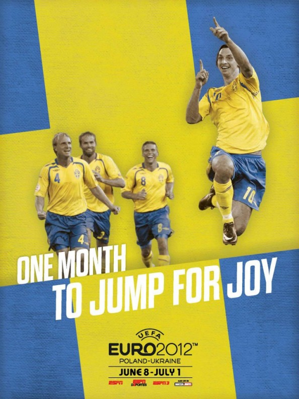 Sweden Euro 2012 Poster e1339056154511 Euro 2012 Posters For All 16 Nations