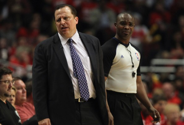 Tom Thibodeau e1340623984717 Records and Milestones in the 2011 2012 NBA Season
