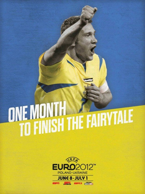 Ukraine Euro 2012 Poster e1339056106968 Euro 2012 Posters For All 16 Nations