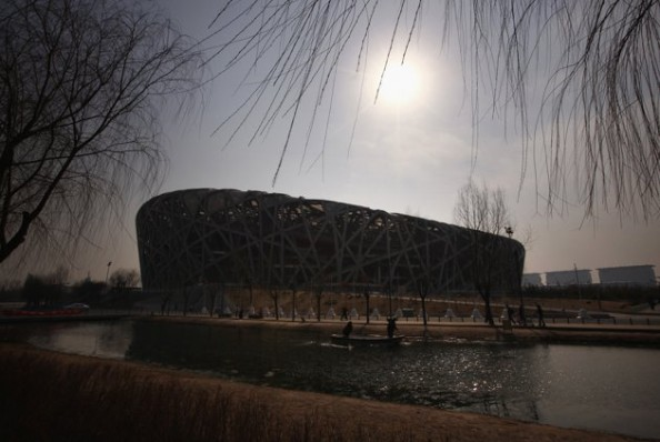 Birds Nest e1343206057402 Beijing Olympics Venues   Now & Then