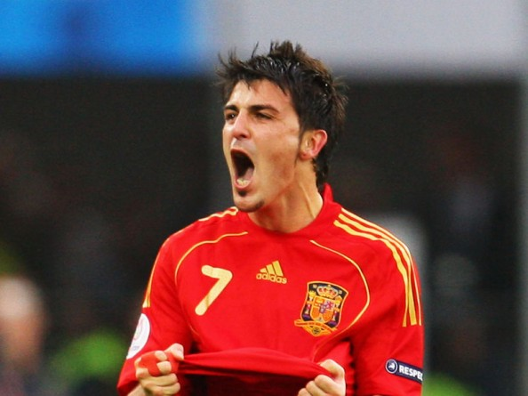 David Villa e1341400722562 All Time Leading Goalscorers for the Top 20 National Teams