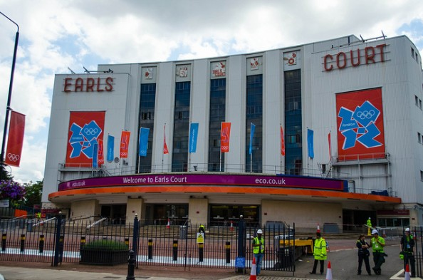 Earls Court Exhibition Centre e1343115284351 The Venues of the 2012 Olympic Games in London