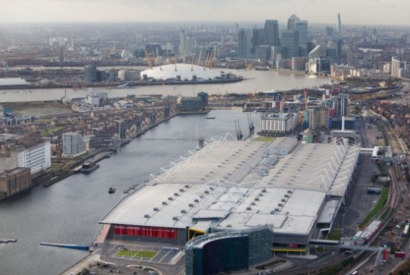 ExCeL London e1343114611453 The Venues of the 2012 Olympic Games in London