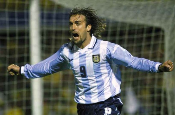 Gabriel Batistuta e1341395544467 All Time Leading Goalscorers for the Top 20 National Teams