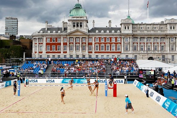 Horse Guards Parade e1343115408527 The Venues of the 2012 Olympic Games in London