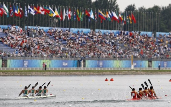 Kayak Competition e1343206527877 Beijing Olympics Venues   Now & Then