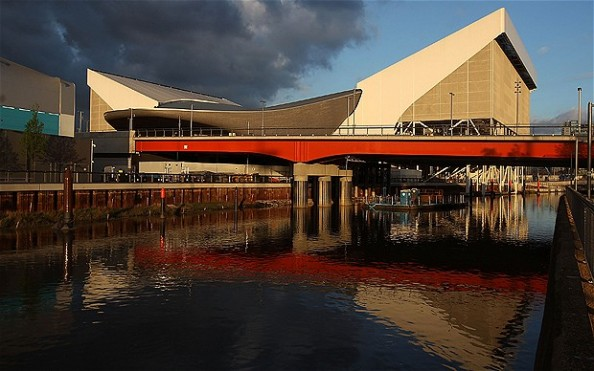 London Aquatics Centre e1343113142420 The Venues of the 2012 Olympic Games in London
