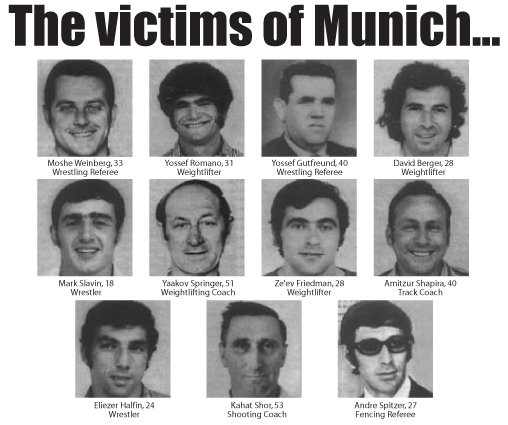 Munich Massacre Another Olympic Opening Ceremony   Munich Massacre Not Mentioned Again