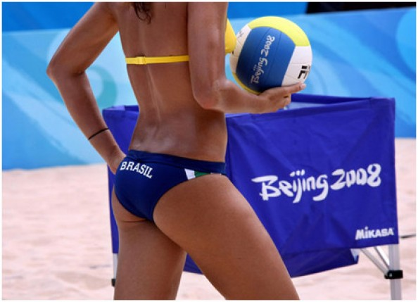 Sexy Volleyball Player e1343215147596 16 Hottest Beach Volleyball Moments we Could Find