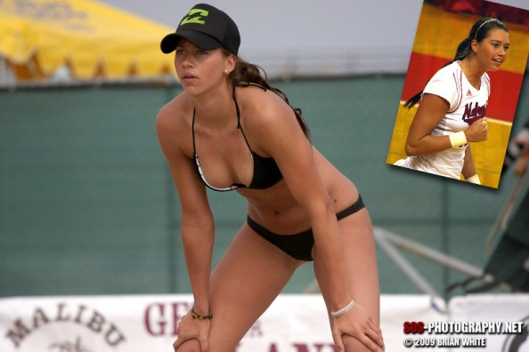 Tara Mueller e1343214862133 16 Hottest Beach Volleyball Moments we Could Find
