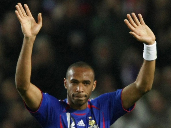 Thierry Henry e1341397961667 All Time Leading Goalscorers for the Top 20 National Teams