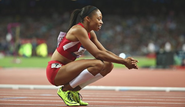 Allyson Felix e1344459070529 London 2012 – Gold Medal Winners on Day 12 of the Olympic Games