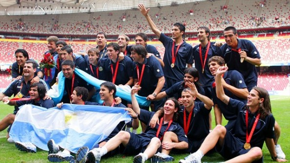 Argentina 2008 e1344422056847 Most Successful Nations in Olympic Football History