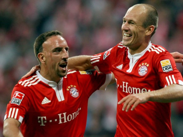 Arjen Robben Franck Ribery e1345043258366 6 Teams That Must Win the League Title in 2012 2013