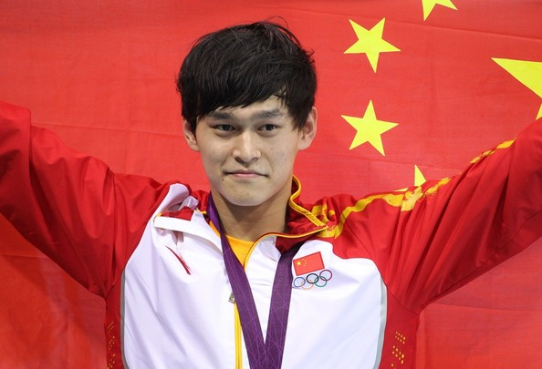 China Sun Yang Final Medal Count of the 2012 Summer Olympics