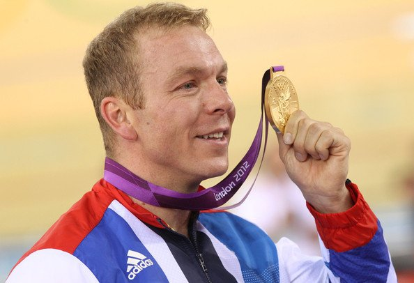 Chris Hoy Gold Final Medal Count of the 2012 Summer Olympics
