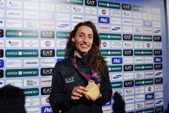 Elisa Di Francisca Final Medal Count of the 2012 Summer Olympics