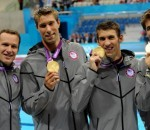 Matt Grevers, Brendan Hansen, Michael Phelps and Nathan Adrian