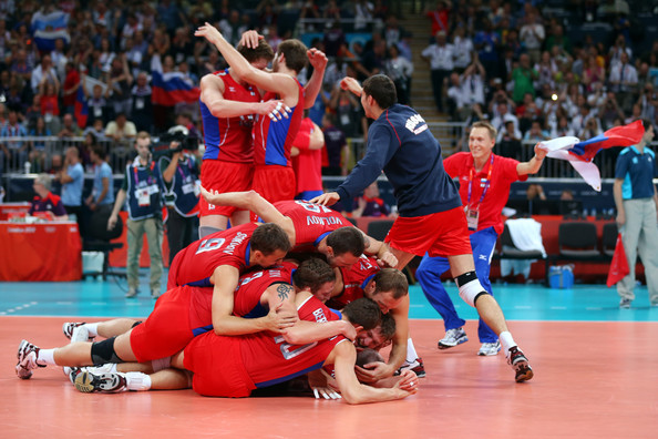 Russia Volleyball Final Medal Count of the 2012 Summer Olympics