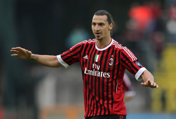 Zlatan Ibrahimovic Milan e1345738074556 13 Most Hated Footballers in the World