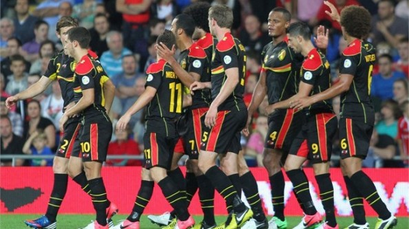 Belgium Players e1347091617616 2014 World Cup Qualifying   Summary & Results