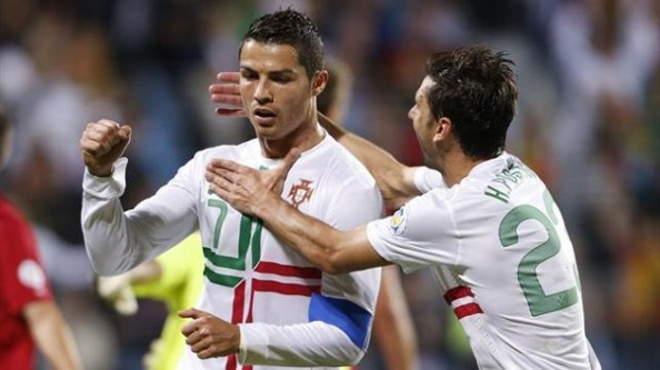 Cristiano Ronaldo Portugal e1347091774423 2014 World Cup Qualifying   Summary & Results