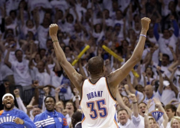 Kevin Durant e1348502176181 Oklahoma City Thunder   How Much Better Can Kevin Durant Get