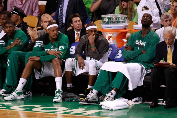 Kevin Garnett Paul Pierce Rajon Rondo Boston Celtics   No Longer a Contender