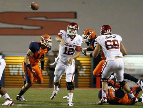 Landry Jones1 e1347093952127 2012 College Football Season   Week 2 Predictions
