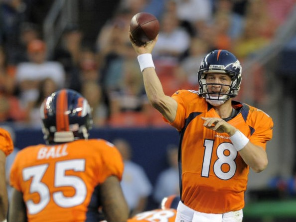 Peyton Manning e1347191992115 2012 NFL Season   Week 1 Predictions