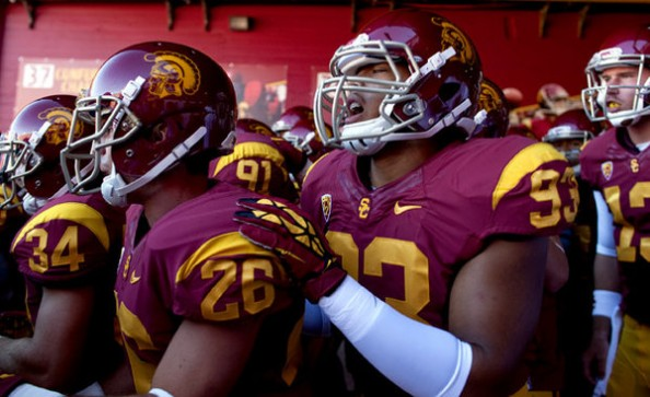 USC players e1347093020489 2012 College Football Season   Week 2 Predictions