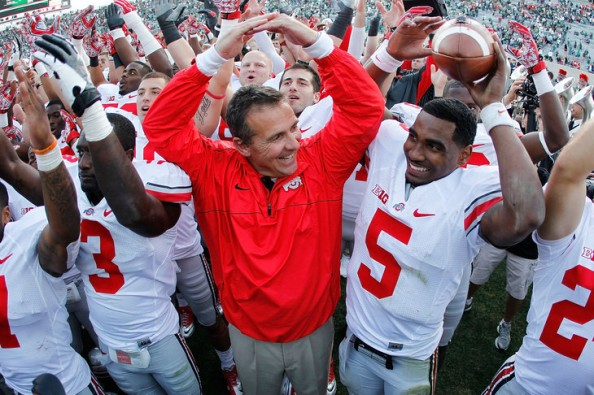 Urban Meyer e1349012838447 College Football   Staying Undefeated Till the Very End