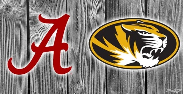 Alabama vs Missouri 2012 e1350115235568 College Football   Week 7 Predictions